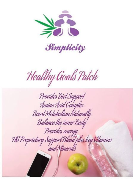 HEALTHY GOALS PATCH HOMEOPATHIC BLEND