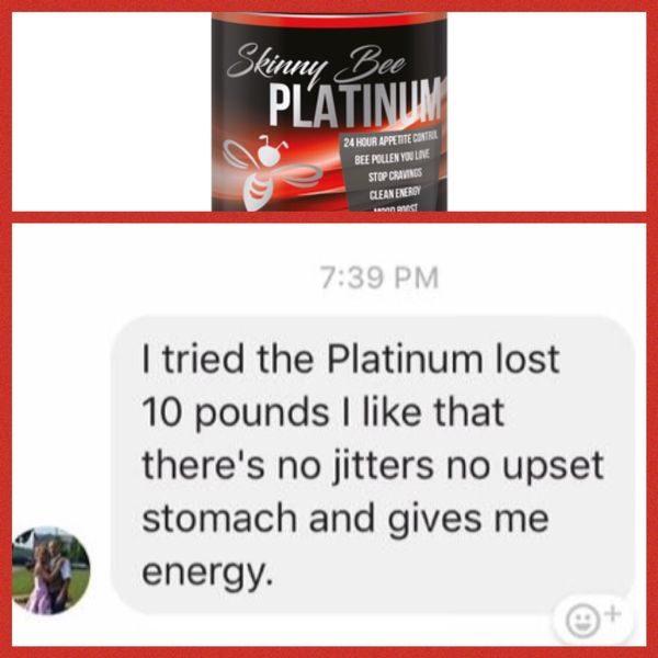 Skinny Bee Platinum